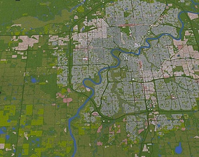 3D Edmonton City
