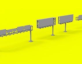 Highway Signage 3D model
