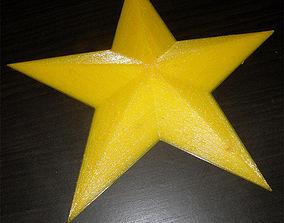 3D print model Stella a 5 punte