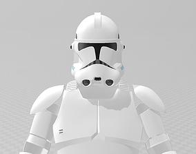 Star Wars Clone Trooper Phase 2 Full 3D printable model 1