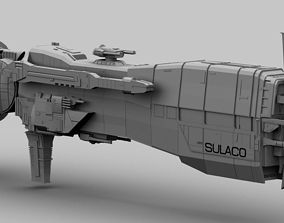 USS SULACO 3D maya