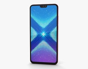 3D Huawei Honor 8X Red