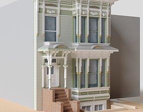 San Francisco Page St Building 2 3D