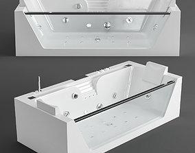 Acrylic bathtub Grossman GR 3D model