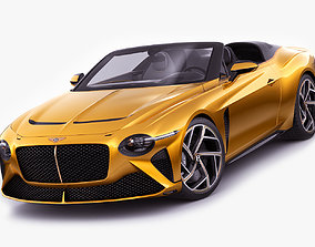 3D model expensive Bentley Mulliner Bacalar 2021