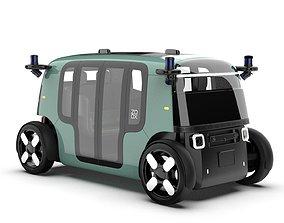 3D ZOOX Autonomous Vehicle
