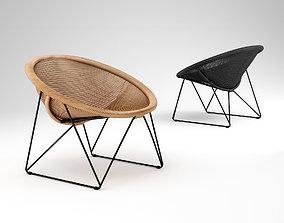 Feelgood designs C317 chair 3D model