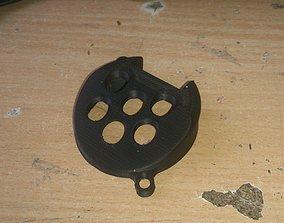 5015 Blower Fan silencer 3D print model