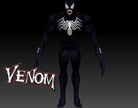 3D asset Venom - ZBrush 4R7 - Full Detailed - Rigged - 1