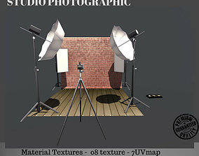 3D asset Studio Photography