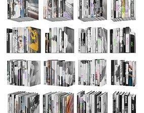 Books 150 pieces 4-9-1 3D model