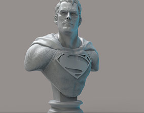 Superman obj 3D print model