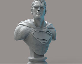 Superman obj 3D print model