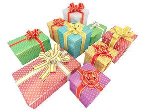3D model Gifts Set