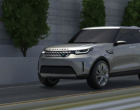 3D model Land Rover Discovery Vision Concept