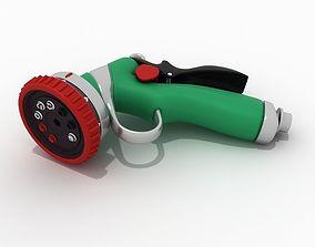 Hose nozzle 01 3D model
