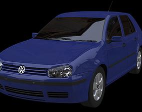 Volkswagen GOLF MK4 1997 2005 3D model