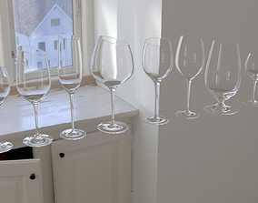 3D model EvaSolo glass collection