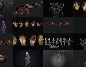 Horror pack 3D model