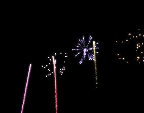 Firework 3D animated