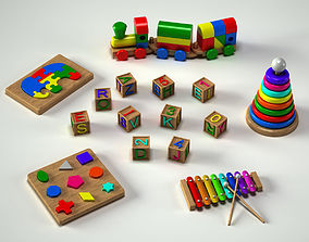 fun Toys Collection 3D model