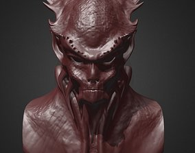 Daemon Bust 5 3D printable model