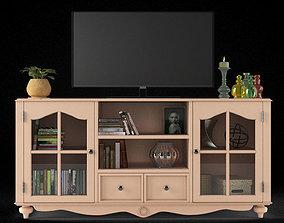Luetta TV Stand ark 3D