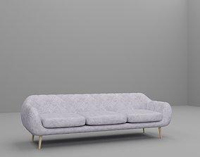 Cosy comfy couch sofa great for Loft interior 3D model
