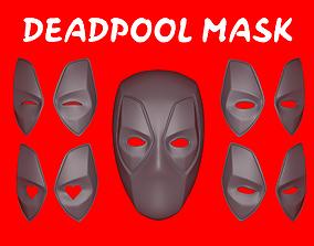 marvel 3D printable model Deadpool Mask