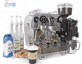 3D model Rocket Professional Espresso Maker