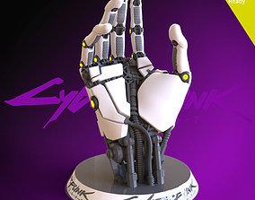 Cyberpunk 2077 3D printing ready fanart cybernetic