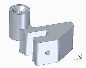 3D printable model Ultimaker 3 Hannotec door hinge