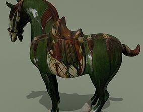Horse Statuette D 3D model
