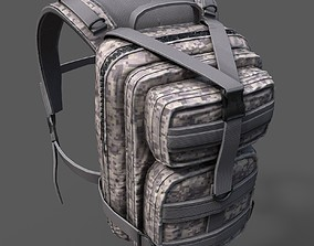 Backpack military 3D asset realtime