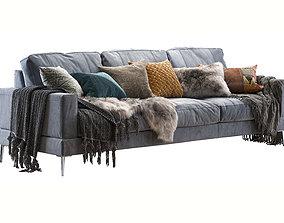 3D model Capri sofa 258 cm