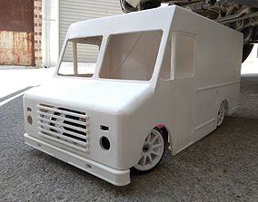3D print model RC truck body delivery 1 10