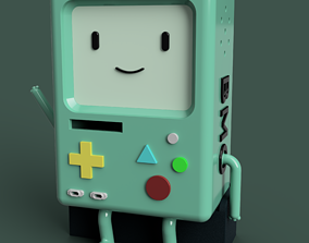 3D model BMO Beemo from Adventure Time
