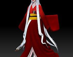 3D model of kitsune