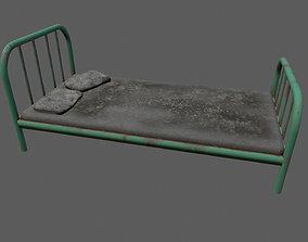 3D asset old bed