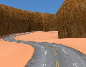 3D asset Rum Valley - Racing Track