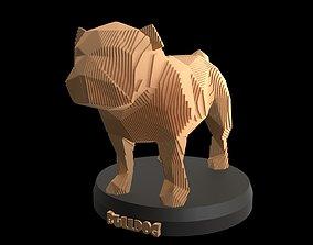 3D model Parametric Bulldog