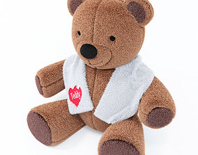 soft 3D model Teddy Bear