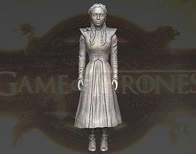 Daenerys Targaryen Game of Thrones 3D printing ready 1