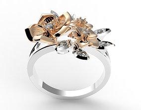 ring lily 3D print model