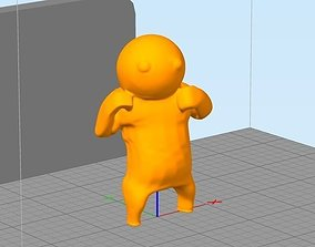 video-game 3D printable model Gang Beasts