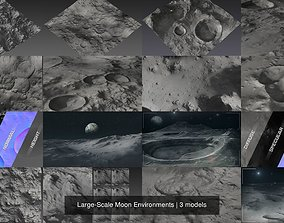 Large-Scale Moon Environments 3D model