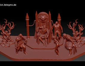 fantasy 3D print model vampire