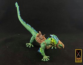 miniatures 3D print model Galactic Raptor With Rider