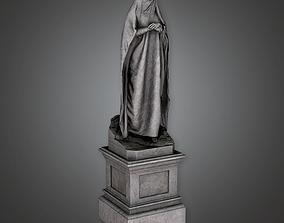 3D asset Stone Statue Cemetery 10 CEM - PBR Game Ready