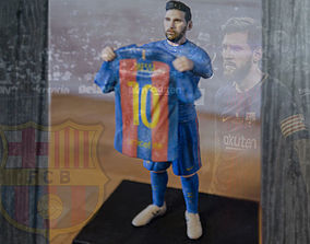 Lionel Messi ready for full color 3D printing